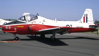 XW369 - Hunting Percival Jet Provost Mk.5 - United Kingdom - Royal Air Force (RAF)