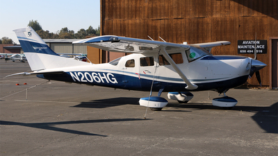 N206HG - Cessna T206H Turbo Stationair - Private