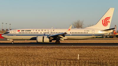 B-1393 - Boeing 737-8 MAX - Air China