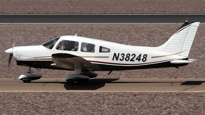 A picture of N38248 - Piper PA28161 - [287716234] - © Jeremy D. Dando