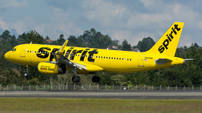 N620NK - Airbus A320-232 - Spirit Airlines
