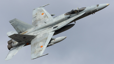 C.15-62 - McDonnell Douglas EF-18M Hornet - Spain - Air Force