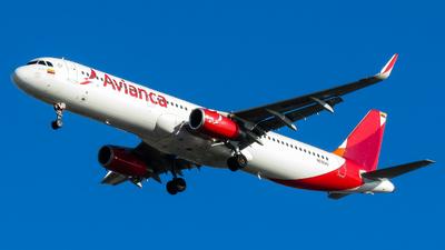 N696AV - Airbus A321-231 - Avianca