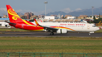 A picture of B1786 - Boeing 73784P - Hainan Airlines - © SEN BAI