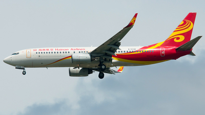 B-5338 - Boeing 737-84P - Hainan Airlines