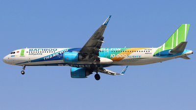 A picture of VNA590 - Airbus A321251N - Bamboo Airways - © Thanhngoc Tran