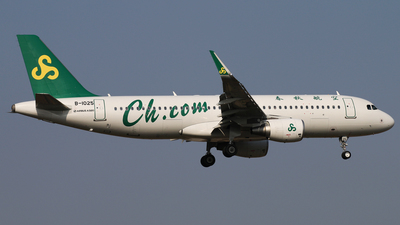 B-1025 - Airbus A320-214 - Spring Airlines