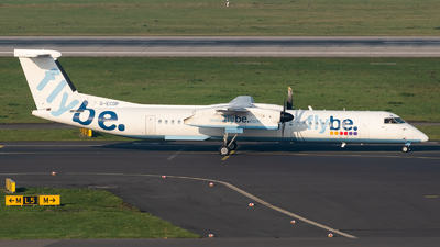 A picture of GECOP - De Havilland Canada Dash 8400 - Flybe - © Chris de Breun