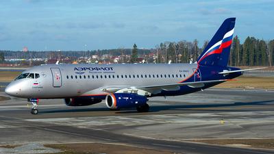 A picture of RA89123 - Sukhoi Superjet 10095B - Aeroflot - © OSDU