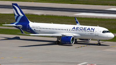 SX-NEC - Airbus A320-271N - Aegean Airlines