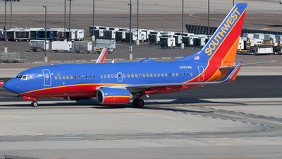 N487WN - Boeing 737-7H4 - Southwest Airlines