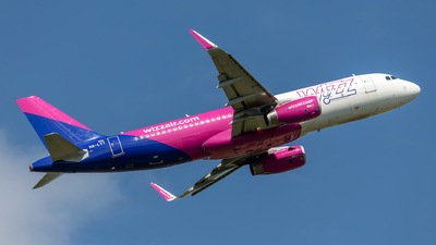 A picture of HALYT - Airbus A320232 - Wizz Air - © Hanjo Schrenk