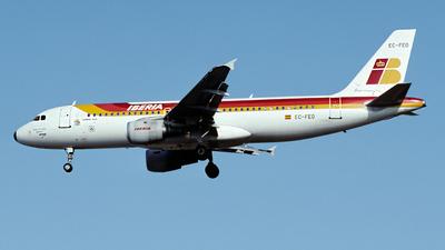 EC-FEO - Airbus A320-211 - Iberia