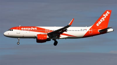 A picture of HBJXM - Airbus A320214 - easyJet - © Hawkwind