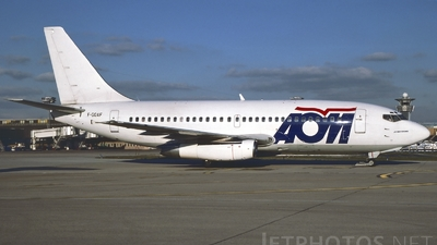 F-GOAF - Boeing 737-242C - AOM French Airlines
