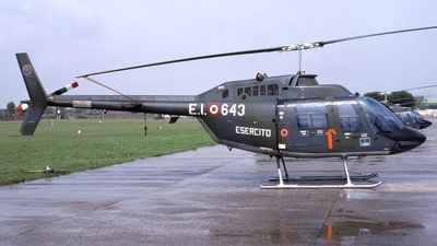 MM80911 - Agusta-Bell AB-206C-1 JetRanger - Italy - Army