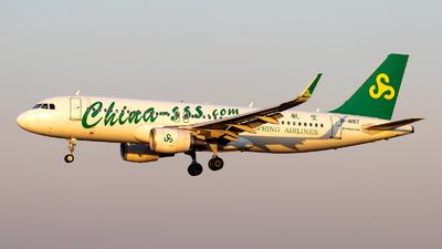 A picture of B1657 - Airbus A320214 - Spring Airlines - © XPHNGB