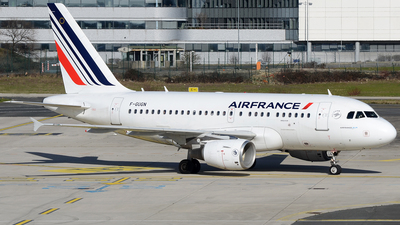 A picture of FGUGN - Airbus A318111 - Air France - © Bjoern Huke