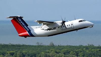 A picture of VHQQF - De Havilland Canada Dash 8100 - Skytrans - © Aerosopuli