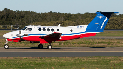 VH-FDS - Beechcraft B200C Super King Air - Royal Flying Doctor Service of Australia (Queensland Section)