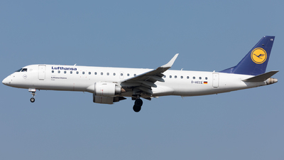 A picture of DAECE - Embraer E190LR - Lufthansa - © Sierra Aviation Photography