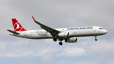 TC-JTD - Airbus A321-231 - Turkish Airlines