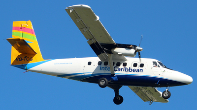 VQ-TCG - De Havilland Canada DHC-6-300 Twin Otter - interCaribbean Airways