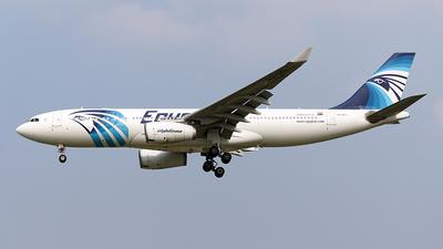 SU-GCI - Airbus A330-243 - EgyptAir