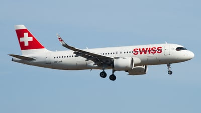 A picture of HBJDA - Airbus A320271N - Swiss - © Stephan Wagner