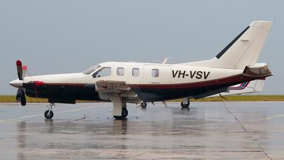 A picture of VHVSV - Socata TBM700 - [173] - © George Canciani