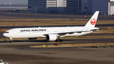 JA737J - Boeing 777-346ER - Japan Airlines (JAL)