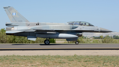 028 - General Dynamics F-16D Fighting Falcon - Greece - Air Force