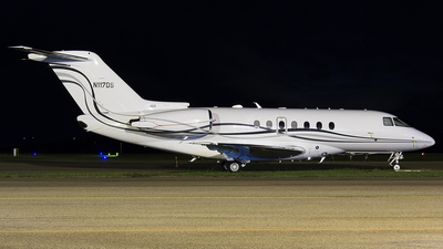 N117DS - Hawker Beechcraft 4000 - Private