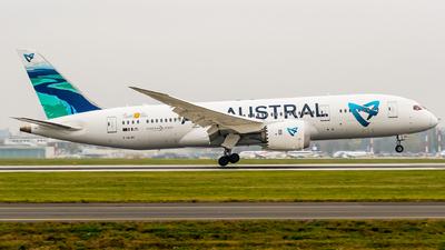 A picture of FOLRC - Boeing 7878 Dreamliner - Air Austral - © Wojtek Raczynski