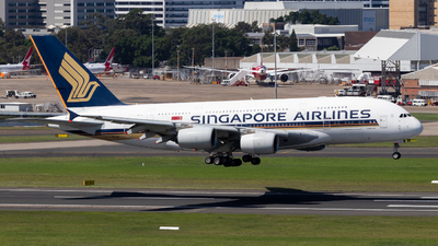 A picture of 9VSKQ - Airbus A380841 - Singapore Airlines - © CATHAY246