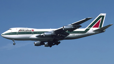 I-DEMY - Boeing 747-230B - Alitalia