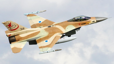 341 - Lockheed Martin F-16C Barak - Israel - Air Force