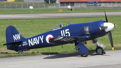 F-AZXJ - Hawker Sea Fury FB.11 - Private