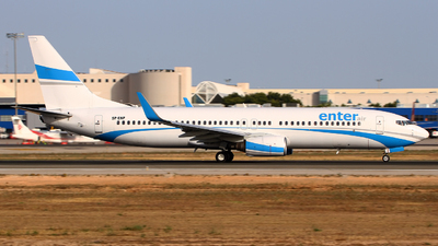SP-ENP - Boeing 737-8AS - Enter Air