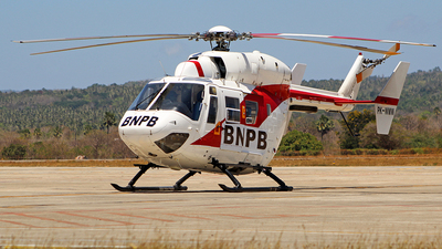 PK-WMW - MBB-Kawasaki BK117C-1 - BNPB - Indonesian National Board for Disaster Management
