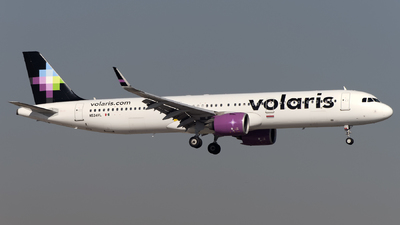 A picture of N534VL - Airbus A321271N - Volaris - © Caballero Aguila