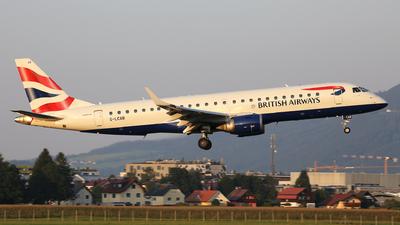 G-LCAB - Embraer 190-100SR - BA CityFlyer
