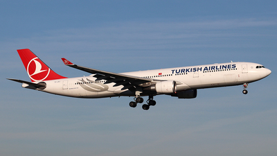 A picture of TCJOJ - Airbus A330303 - Turkish Airlines - © Philipp Schuetz