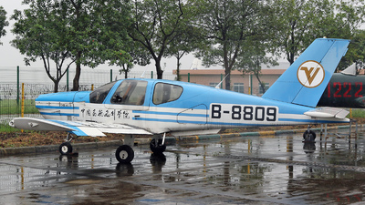 B-8809 - Socata TB-200 Tobago XL - Civil Aviation Flight University of China