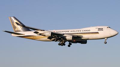 9V-SFJ - Boeing 747-412F(SCD) - Singapore Airlines Cargo