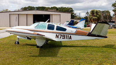 A picture of N7911A - Beech S35 Bonanza - [D7490] - © Oliver Richter