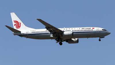 A picture of B2672 - Boeing 73789L - Air China - © ceci wong
