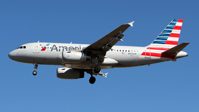 A picture of N809AW - Airbus A319132 - American Airlines - © toyo_69pr