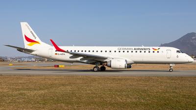 A picture of DAZFA - Embraer E190LR - German Airways - © David Schilcher