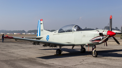 212 - Pilatus PC-7 - Guatemala - Air Force
